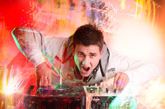Disc Jockey Stock Images