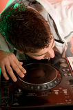 Disc Jockey Stock Photo