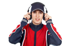 Disc jockey royalty free stock photography