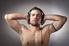 Disc-jockey photo libre de droits