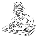 Disc-jockey Images stock