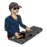 Disc-jockey Image stock