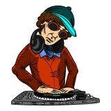 Disc-jockey Images libres de droits