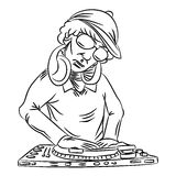 Disc-jockey Photos stock