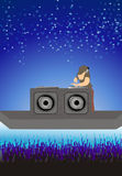 Disc jockey Royalty Free Stock Image