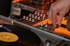 Disc-jockey image libre de droits