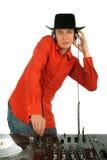 Disc-jockey de verticale image libre de droits