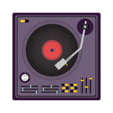 Disc jockey design Stock Photos