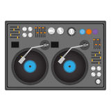 Disc jockey design Stock Photo