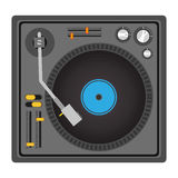 Disc jockey design Royalty Free Stock Photo