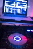 Disc-jockey du DJ à la noce photo libre de droits
