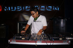 Disc jockey Stock Photography