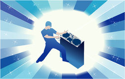 Disc jokey -  dj Royalty Free Stock Photography