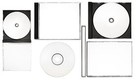 Disc Labeling – Complete Disc Labeling Set w/ Paths (XXL File) Stock Photos