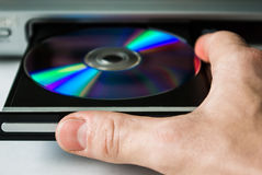 Disc player Stock Images