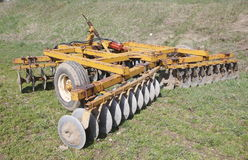 Disc Plow Royalty Free Stock Photography