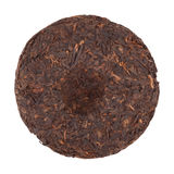 Disc Of Puer Tea stock photos