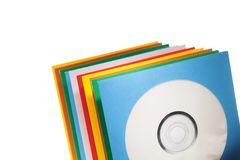 Disc sleeves Royalty Free Stock Photo