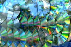 disc texture Royalty Free Stock Photo