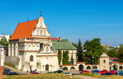 Discalced Carmelites monastery in Lublin Stock Photos