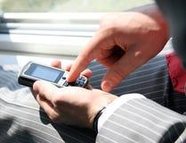 Discando seu número Imagem de Stock