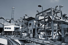 Discard industrial factory Stock Photography