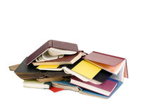 Discarded Books. A pile of books that someone threw away Stock Images