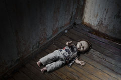 Discarded Doll Stock Photography