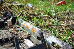 Discarded electronic Stock Photos
