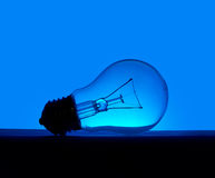 Discarded light bulb, incandescent style Royalty Free Stock Photo
