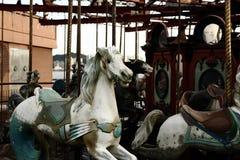 Discarded merry go around Royalty Free Stock Photo