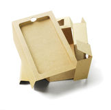 Discarded Packaging Cardboard Royalty Free Stock Photo