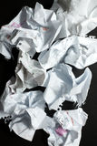 Discarded Paper Stock Image