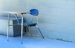 Discarded School Equipment Stock Photography