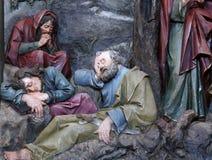 Discepoli addormentati Fotografia Stock Libera da Diritti