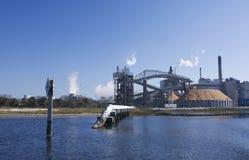 discharge портовый район papermill Стоковые Изображения RF