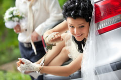 Discharge of captive bride Stock Image