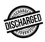 Discharged rubber stamp. Grunge design with dust scratches. Effects can be easily removed for a clean, crisp look. Color is easily changed Royalty Free Stock Photos