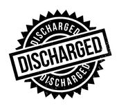 Discharged rubber stamp. Grunge design with dust scratches. Effects can be easily removed for a clean, crisp look. Color is easily changed Royalty Free Stock Photo