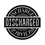 Discharged rubber stamp. Grunge design with dust scratches. Effects can be easily removed for a clean, crisp look. Color is easily changed Royalty Free Stock Image