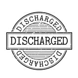 Discharged rubber stamp. Grunge design with dust scratches. Effects can be easily removed for a clean, crisp look. Color is easily changed Stock Image