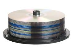 Dischi CD Fotografia Stock