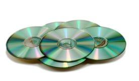 Dischi CD Fotografie Stock
