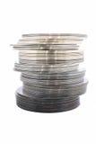 Dischi Cd del dvd Immagine Stock