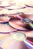 Dischi CD (DVD) immagine stock