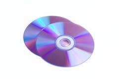 Dischi del CD di DVD Immagine Stock Libera da Diritti