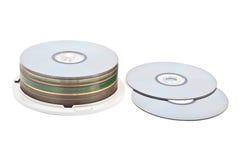 Dischi di DVD Immagini Stock