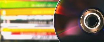 Dischi di DVD Fotografia Stock Libera da Diritti