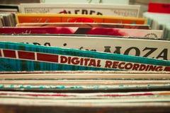 Dischi di musica Fotografia Stock Libera da Diritti