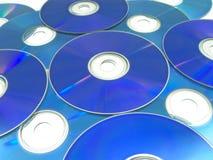 Dischi ottici 01 Fotografia Stock Libera da Diritti